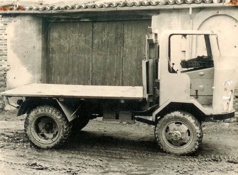 Esta fue la primera carroceta de la empresa, adquirida en sus inicios ❤